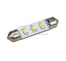Автолампа ARL-F42-3E Warm White (10-30V, 3 LED 2835) (ANR, Открытый)