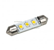Автолампа ARL-F37-3E Warm White (10-30V, 3 LED 2835) (ANR, Открытый)