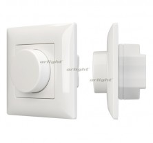 Панель SMART-P14-DIM-IN White (230V, 3A, 0-10V, Rotary, 2.4G)